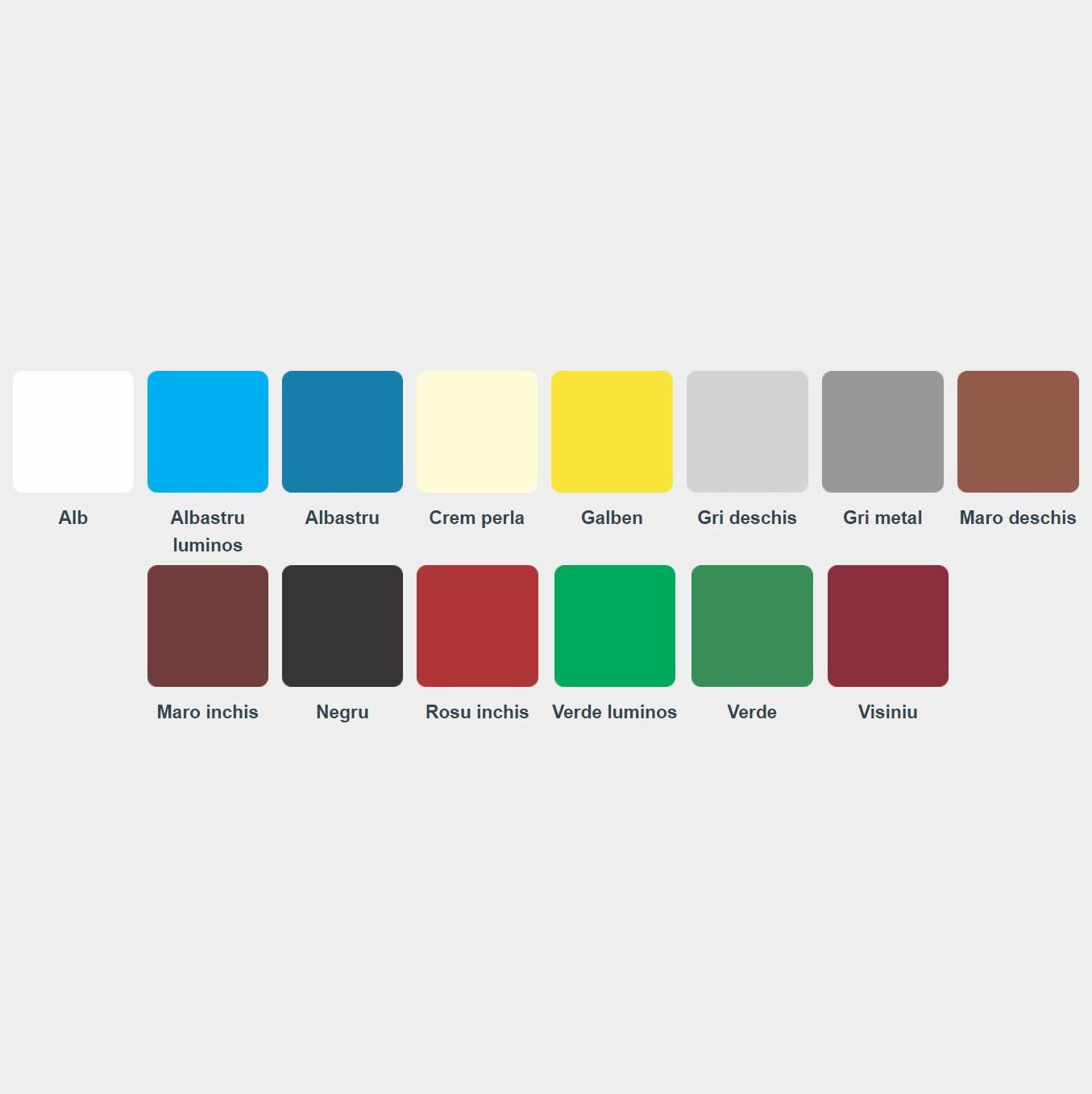 Culori vopsea lavabila interior dedeman