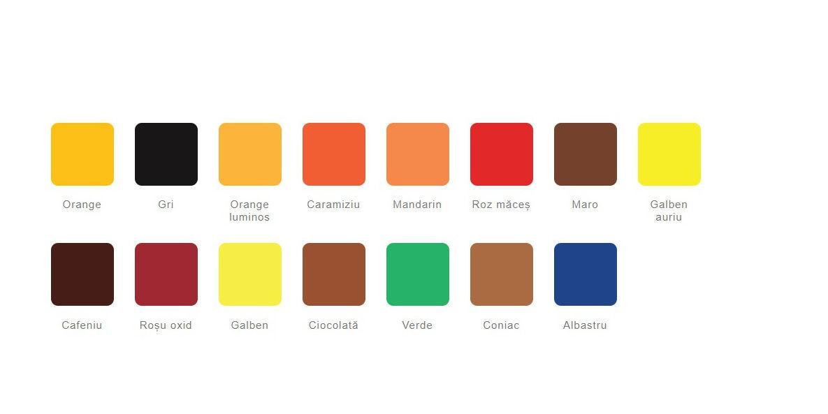Paleta culori lavabila kober