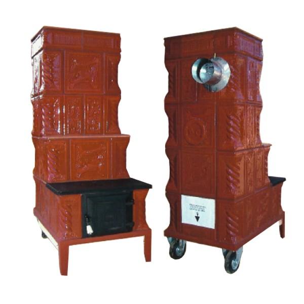dedeman soba teracota pe lemne mobila tip e cu plita 8