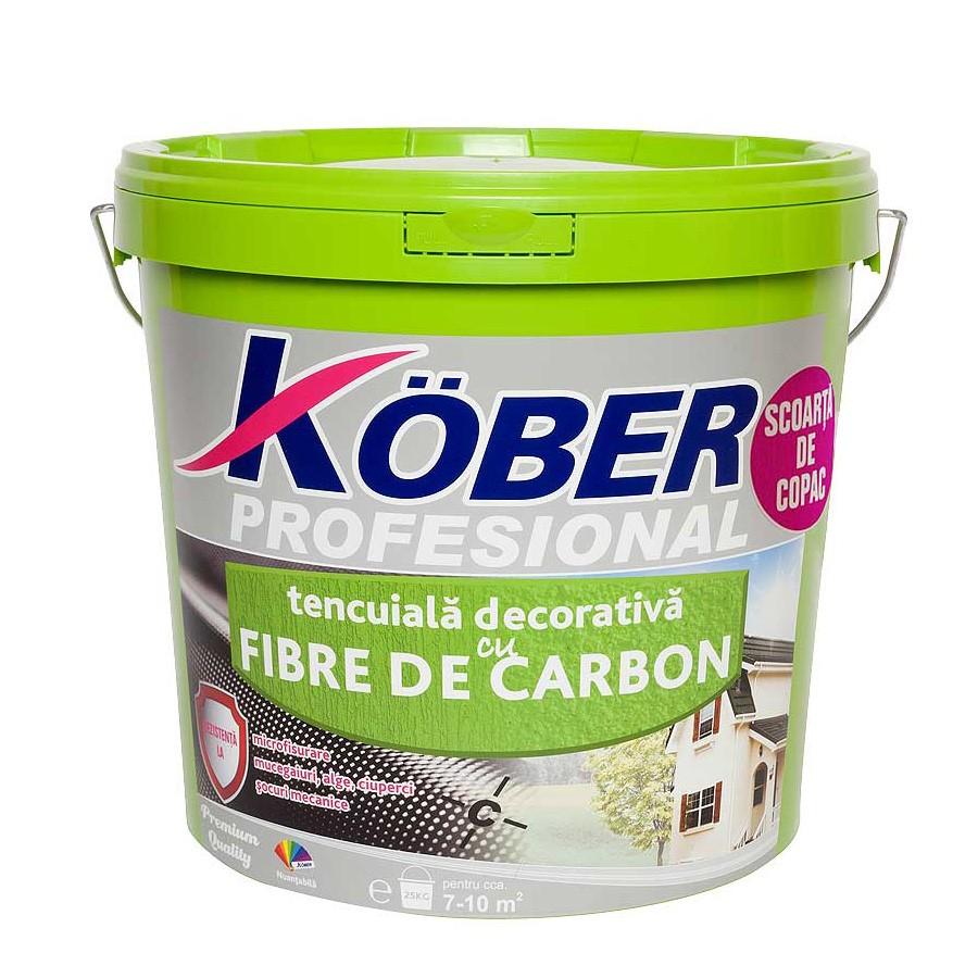 Cea Mai Buna Tencuiala Decorativa Exterior.Dedeman Tencuiala Decorativa Cu Fibra Carbon Kober Profesional 1 5