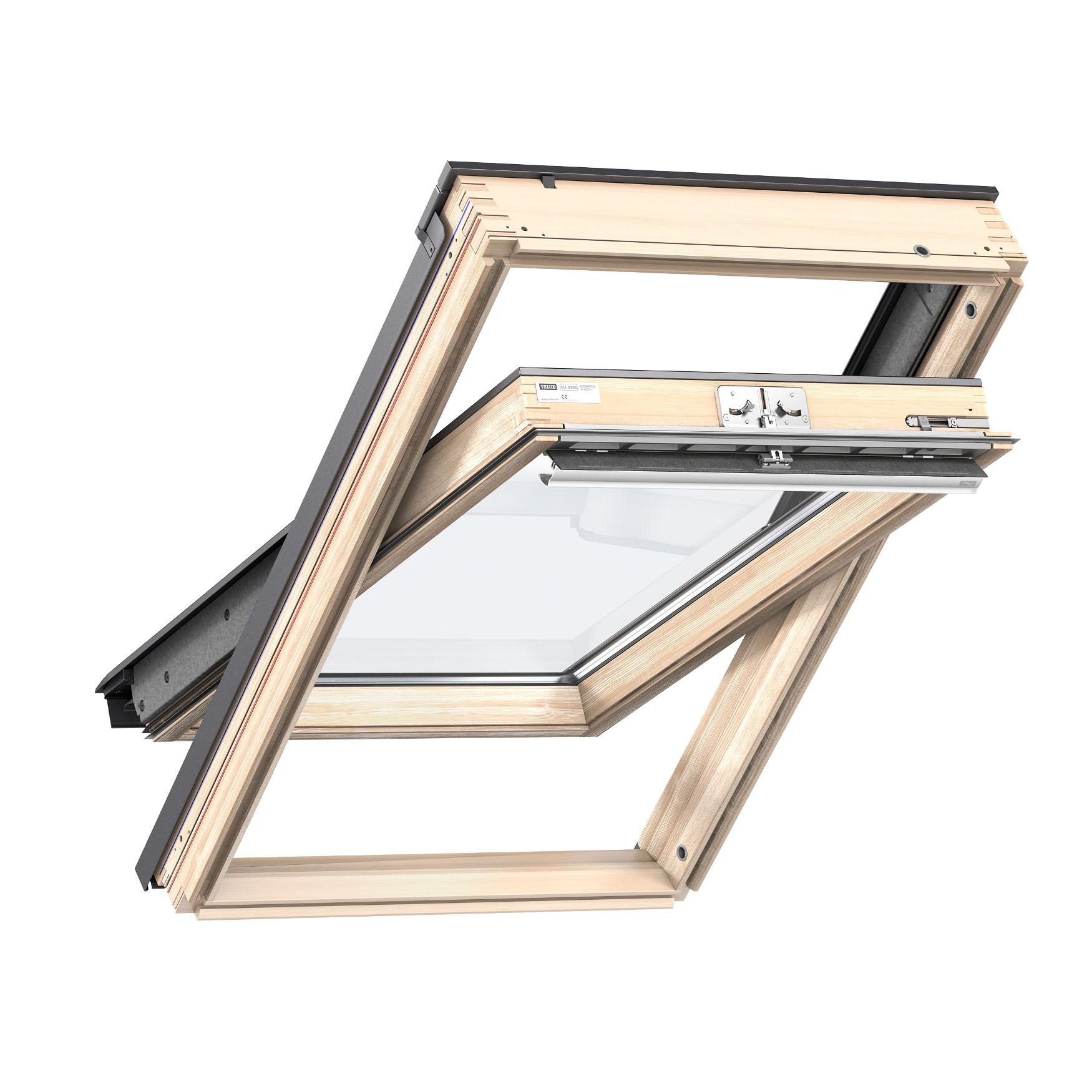 Dedeman fereastra de mansarda velux standard gzl 1051 mk08 - Velux 140 78 ...