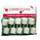 Piatra abraziva pentru slefuit metale, Carbochim, 32 x 40/6 x 40