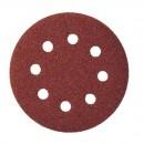 Disc cu autofixare granulatie 180 diametru 125 mm 62107 pentru metal, lemn