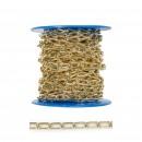 Lant cu za ovala, auriu, 2.8 mm