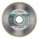 Disc diamantat, continuu, pentru debitare placi ceramice, Bosch Standard for Ceramic, 115 x 22.23 x 1.6 mm, 2608602201