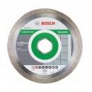 Disc diamantat, continuu, pentru debitare piatra, Bosch Standard for Ceramic, 125 x 22.23 x 1.6 mm, 2608602202