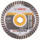 Disc diamantat, continuu, pentru debitare beton / piatra, Bosch Standard for Universal Turbo, 150 x 22.23 x 2.5 mm, 2608602395