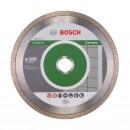 Disc diamantat, continuu, pentru debitare placi ceramice, Bosch Standard for Ceramic, 180 x 22.23 x 1.6 mm, 2608602204