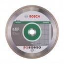 Disc diamantat, continuu, pentru debitare placi ceramice, Bosch Standard for Ceramic, 230 x 22.23 x 1.6 mm, 2608602205