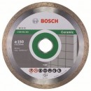 Disc diamantat, continuu, pentru debitare piatra, Bosch Standard for Ceramic, 150 x 22.23 x 1.6 mm, 2608602203