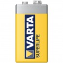 Baterie Varta Superlife 2022, 9 V, Zinc-Carbon