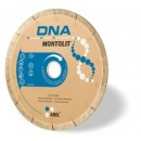 Disc diamantat, continuu, pentru debitare placi ceramice / granit, Montolit DNA, 180 x 25.4 x 22.2 mm