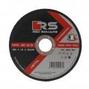 Disc debitare metal, Red Square, 125 x 22.2 x 1.5 mm