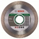 Disc diamantat, continuu, pentru debitare placi ceramice, Bosch Best for Ceramic, 115 x 22.23 x 1.8 mm, 2608602630