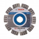 Disc diamantat, cu segmente, pentru debitare beton / piatra, Bosch Best for Stone,  125 x 22.23 x 2.2 x 12 mm, 2608602642