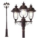 Stalp de iluminat ornamental Verona 9273, 3 x E27, 305.9 cm