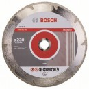 Disc diamantat, continuu, pentru debitare marmura, Bosch Best for Marble,  230 x 22.23 x 2.2 mm, 2608602693