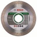 Disc diamantat, continuu, pentru debitare piatra, Bosch Best for Ceramic, 110 x 22.23 x 1.8 mm, 2608602629