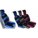 Husa auto pentru scaun, microfibra, cu tetiera, diverse culori