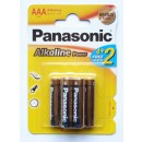 Baterie Panasonic Alkaline Power, R3 / AAA, 6 buc