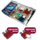 Set 18 buc sigurante cu LED + extractor