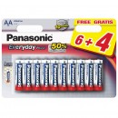 Baterie Panasonic EveryDayPower, R6 / AA, 1.5V, 10 buc