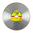 Disc diamantat, continuu, pentru debitare placi ceramice, Klingspor DT 300 F Extra, 230 x 22.23 x 1.90 mm