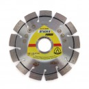 Disc diamantat, cu segmente, pentru debitare materiale de constructii, Klingspor DT 600 U Supra, 115 x 22.23 x 2.4 mm