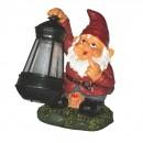 Lampa solara LED Hoff pitic cu felinar, rasina, 17.5 cm