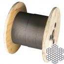 Cablu normal otel inox 7x7 D3 mm colac 10M