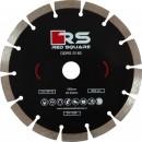 Disc diamantat, cu segmente, pentru debitare beton, Red Square DDS180, 180 x 22.2 x 2.4 mm