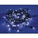 Instalatie brad Craciun, Hoff, 240 LED-uri albe cu lumina rece, 23.9 m, controler, interior / exterior