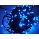 Instalatie brad Craciun, Hoff, 240 LED-uri albastre, 23.9 m, controler, interior / exterior