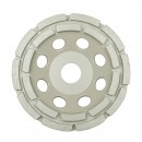 Disc diamantat, tip oala, pentru slefuire, Klingspor DS 300 B, 125 x 22.23 x 7 x 5 mm