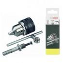 Mandrin + cheie mandrina + adaptor SDS-Plus, Bosch 2607000982