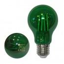 Bec LED COG Adeleq Lumen 06-728/V clasic E27 6W lumina verde