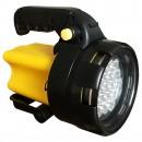 Lanterna 19 LED-uri cu acumulator, reincarcabila, Hoff, 3W