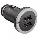 Alimentator USB bricheta auto cu 2 iesiri 2,1A