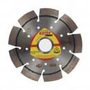 Disc diamantat, cu segmente, pentru debitare beton armat, Klingspor DT 900 B Special, 125 x 22.23 x 2.4 mm