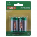 Baterie Hoff, LR14 / C, Alkaline, 2 buc