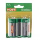 Baterie Hoff, LR20 / D, Alkaline, 2 buc