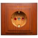 Priza simpla Mono Electric Larissa, incastrata, contact de protectie, protectie copii, rama inclusa, cires