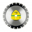 Disc diamantat segmentat, pentru taiere asfalt, Klingspor DT 350 A Extra, 350 x 25.4 x 3.2 mm
