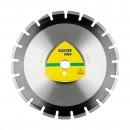Disc diamantat segmentat, pentru taiere asfalt, Klingspor DT 350 A Extra, 400 x 25.4 x 3.4 mm
