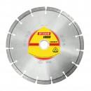Disc diamantat segmentat, pentru taiere beton, Klingspor DT 350 B Extra, 125 x 22.23 x 2.4 mm