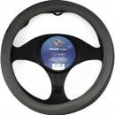 Husa auto volan Carmax Premium, 5949042304910, 37-43 cm, gri