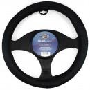 Husa auto volan Carmax Premium, 5949042304927, 37-43 cm, negru