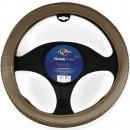 Husa auto volan Carmax Premium, 5949042304934, 37-43 cm, bej