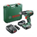 Masina de gaurit / insurubat Bosch PSR 1440 LI, cu 2 acumulatori, 14.4 V, 1.5 Ah, 06039A3021