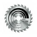 Panza pentru fierastrau circular dimensiuni 160x16 z24 2608640596